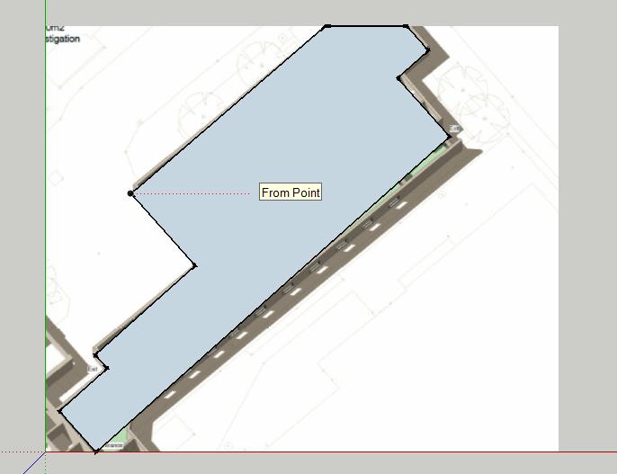 Modeling - Drawing a  skp model from PDF plans for Sefaira