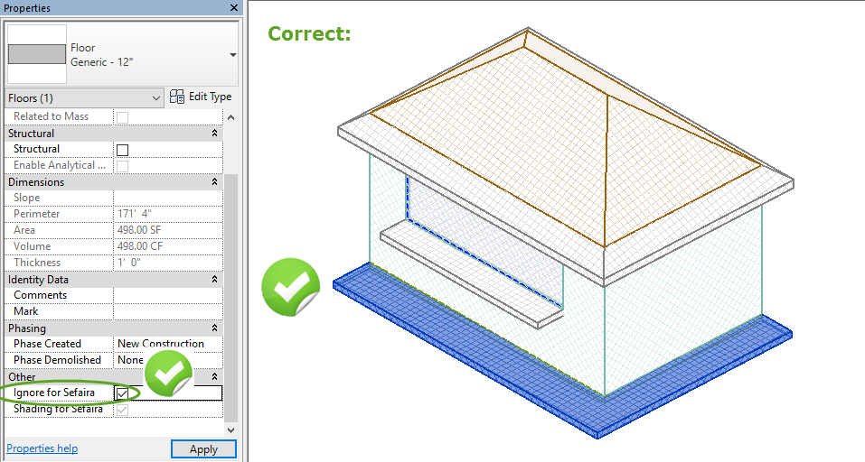 Revit: How to model balconies, roof overhangs, and outside patios